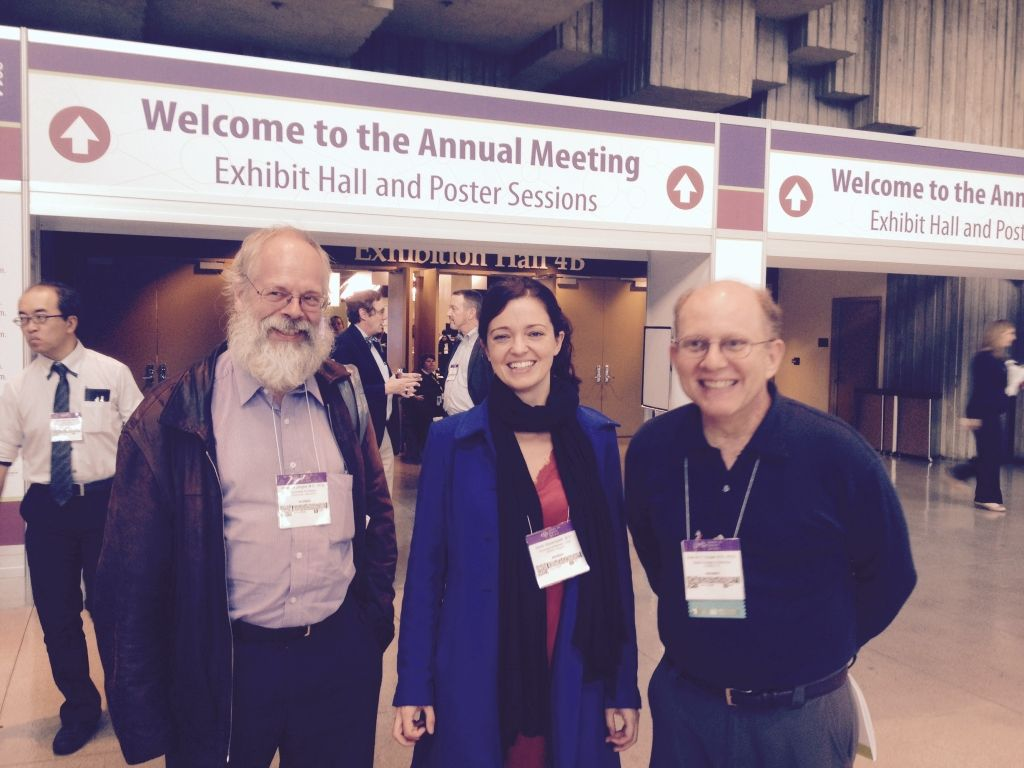 Drs. Peter De Jonghe, Sarah Weckhuysen, and Ed Cooper.